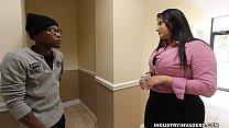 Kim Cruz Thick Latina gives BBC Blowjob in her ...