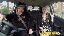 Fake Driving School Busty Blonde Georgie Lyall ...