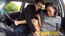 Fake Driving School nervous black teen filled u...