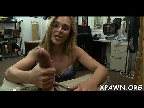 Beautiful bitch sex in shop