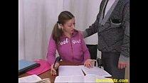 Italian daddy seduced his cute young daughter i...