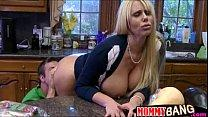 Karen Fisher and Molly Bennett threesome in the...