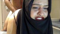 CRYING ANAL ! CHEATING HIJAB WIFE FUCKED IN THE...