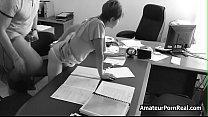 Amateur Porn Office Spycam Caught Boss Fucks Se...