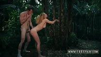 Fucked hard in Jungle