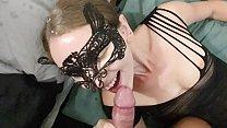 Sexy Hotwife Sucking Dick And Getting a Huge Fa...