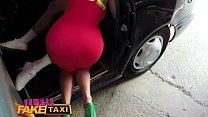 Female Fake Taxi Stud gives busty blonde milf a...