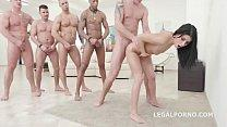 Nicole Black - 10on1 DAP Gangbang and Balls Deep Anal