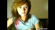 18 year old teen masturbates for web cam - More...